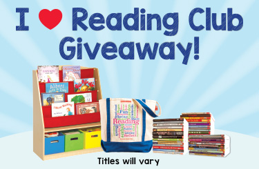 I <3 Reading Club Giveaway