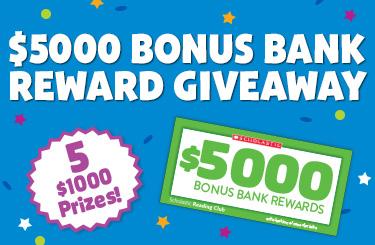 $5000 Bonus Bank Giveaway