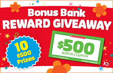 Bonus Bank Reward Giveaway